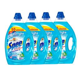 Spee Aktiv Gel 2-in-1 Flüssigwaschmittel 4x50 Waschladungen Weichspülerfrische