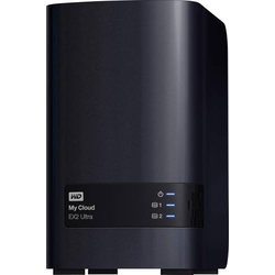 WD My Cloud™ EX2 Ultra Cloud Speichergerät 8TB 2 Bay Business Cloud, bestückt mit 2x 4TB WD RED