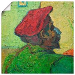 Wandbild »Paul Gauguin Gemälde v. V. van Gogh«, Bilder, 77715542-0 grün 40x40 cm grün