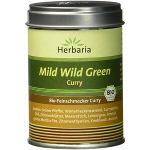 "Herbaria ""Mild Wild Green"" Curry Bio, 70 g Dose"
