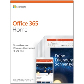 Microsoft Office 365 Home 6 User PKC EN Win Mac Android iOS