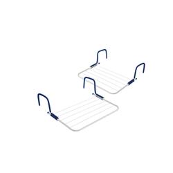 BigDean Balkonwäschetrockner Wäschetrockner für Balkon, Heizung & Camping − Wäscheständer für Balkongeländer & Heizkörper
