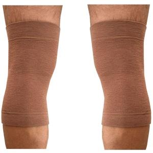 2 Knieschoner Wolle Elastische Band Wärme für die Knie Schmerzlinderung Traumata SMALL