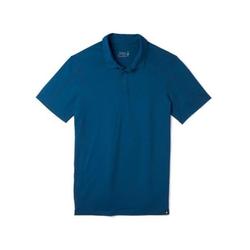 smartwool Merino Sport 150 Polo Herren Poloshirt blau XL