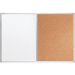 FRANKEN Whiteboard-Pinnwand X-tra!Line 90,0 x 60,0 cm Kork braun