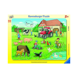 Ravensburger Puzzle Sommertag auf dem Bauernhof, 8-17 Teile, Puzzleteile