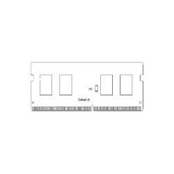 Hynix RAM SO-DIMM DDR4 4GB/PC2666/UB/Hynix 4 GB CL19 (HMA851S6CJR6N-VK)