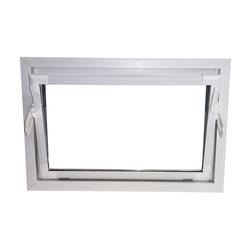 ACO Severin Ahlmann GmbH & Co. KG Kellerfenster ACO 100cm Nebenraumfenster Kippfenster Isoglasfenster Fenster weiß Kellerfenster, wärmeisolierende Kunststoff-Hohlkammerprofile 100 cm x 80 cm