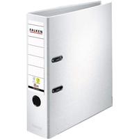 Falken Ordner PP-Color DIN A4 80mm Weiß 2 Bügel 9984030