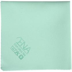 ENA Ultra Tex PU Tuch, 38 x 37 cm, Putztuch für die fusselfreie Reinigung, 1 Packung = 5 Tücher, grün