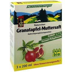 GRANATAPFEL-MUTTERSAFT SCHOENENB HEILPFLANZENSÄFTE