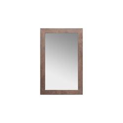 Spiegelprofi Rahmenspiegel Nora in braun/Rostoptik, 72 x 112 cm