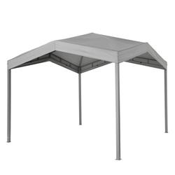 Tepro Pavillon Festzelt 3x3m Gartenpavillon Sonnenschutz Marabo grau