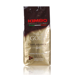 Kimbo Kaffeebohnen Aroma Gold 100% Arabica 1000g