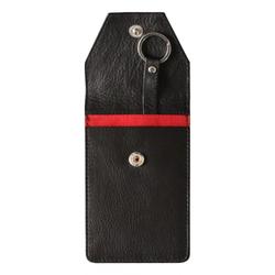 Autoschlüsseletui Autoschlüsseltasche keyless schwarz echtes Leder
