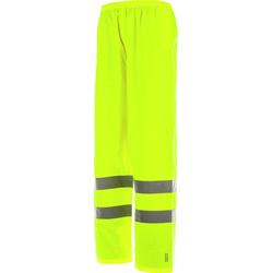 Warnschutz Regenhose EN 20471 1.2 gelb