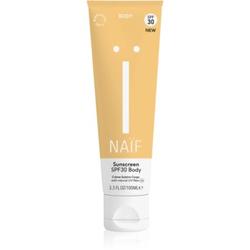 Naif Face Bräunungscreme für den Körper SPF 30 100 ml