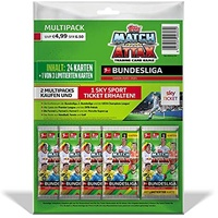 Topps Bundesliga Match Attax 20/21 - Multipack (25 Karten)