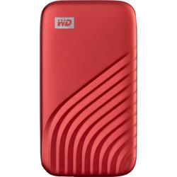 WD My Passport 500GB red