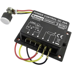 Kemo M195 PWM Leistungsregler Baustein 9 V/DC, 12 V/DC, 24 V/DC, 28 V/DC