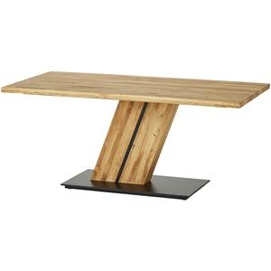 Woodford Säulentisch massiv  Granger ¦ holzfarben ¦ Maße (cm): B: 100 H: 77 » Möbel Kraft