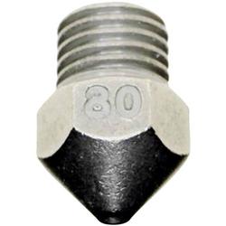 3D Solex Düse 0.80mm HardCore Passend für: Ultimaker 3 3DSolex UM3 0.80 Hardcore Nozzle