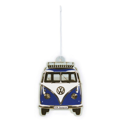 VW Collection by BRISA Autopflege-Set VW Bus T1, Zubehör für Auto blau