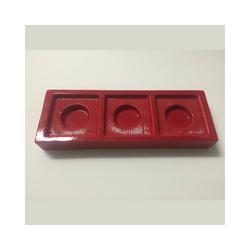 CULTDESIGN Teelichthalter Teelichthalter CHANGE Basic rot - Solo