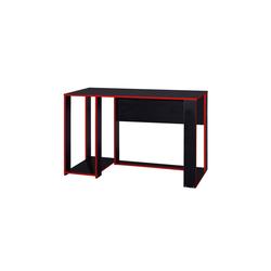 HTI-Line Schreibtisch Schreibtisch Gamer, Schreibtisch rot