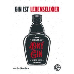 Gin Postkarte No.9