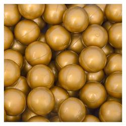50 Bälle für Bällebad 5,5cm Babybälle Plastikbälle Baby Spielbälle Gold