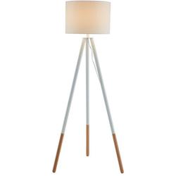 SalesFever Stehlampe Uldis, Dreibeiniges Stativ, skandinavisches Design