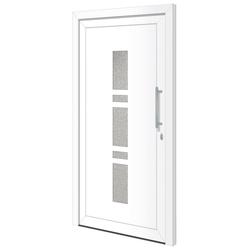 RORO Türen & Fenster Haustür OTTO 19, BxH: 110x210 cm, weiß, ohne Griffgarnitur