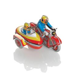 Booster Metall Motorrad mit Beiwagen 1