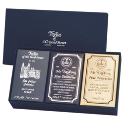 Taylor of Old Bond Street Gentleman's Soap Set