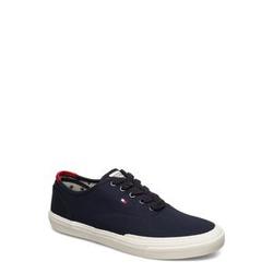 Tommy Hilfiger Core Oxford Twill Sneaker Niedrige Sneaker Blau TOMMY HILFIGER Blau 43,45