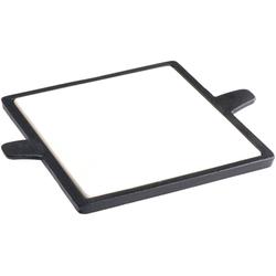 Tepro Backstein Rost-in-Rost-System, Cordierit, Pizzastein, BxT: 32,5 x 26,5 cm