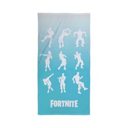Character World Badetücher Strand- und Badetuch Fortnite, 70 x 140 cm blau