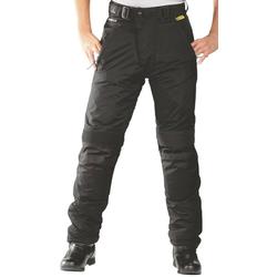 ROLEFF Motorradhose RO 455, mit Knieprotektoren schwarz