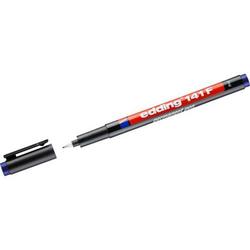 Permanent Pen edding 141 F 0,6mm blau