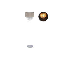 relaxdays Stehlampe Stehlampe Organza Kristall