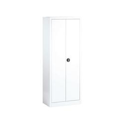 CP Aktenschrank abschließbar weiß 80 cm x 195 cm x 42 cm