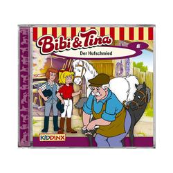 Kiddinx Hörspiel CD Bibi & Tina 08 - Der Hufschmied
