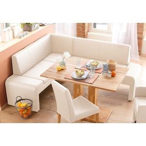 Home Affaire Truhen-Eckbank »Bologna«, beige, Langer Schenkel rechts, Langer Schenkel rechts, FSC®-zertifiziert