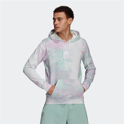 Sweatshirt ADIDAS - Essentials Hoodie Clear Mint/Clear Lilac/White (CLEAR MINT-CLEAR LIL) Größe: XL