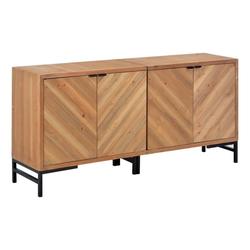 vidaXL Anrichte vidaXL Sideboard 150×35×72 cm Massivholz