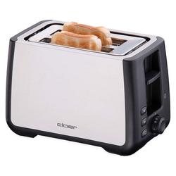Cloer Toaster 3569 Toaster XXL Edelstahl
