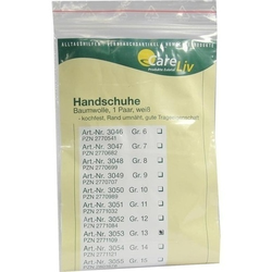 HANDSCHUHE Baumwolle Gr.13 2 St
