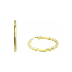 Creolen für Damen, Gold 375 amor Gold