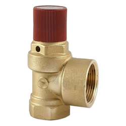 Caleffi Sicherheitsventil 1'' IG für Heizung - 3 bar - bis 120°C - Auslass 1 1/4'' IG - 530630